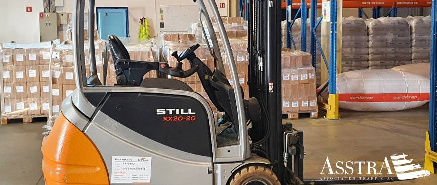 AsstrA Warehouse Drives Efficiency with Intralogistics