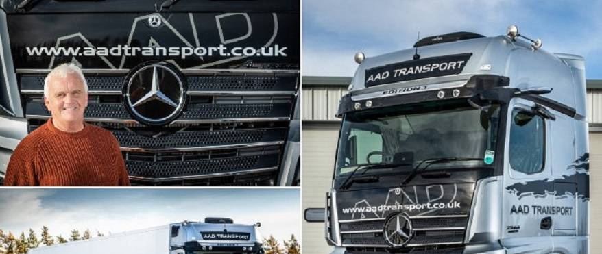 Exclusive Mercedes-Benz Actros Edition 1 flagship is a winner on all fronts for AAD Transport